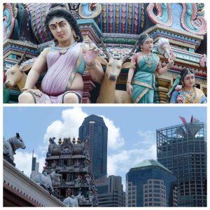 Temples - indouistes - Singapour
