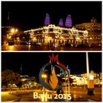 Baku - night - Europen Game 2015