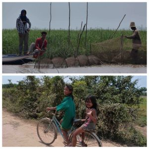 Cambodge Children Fishers