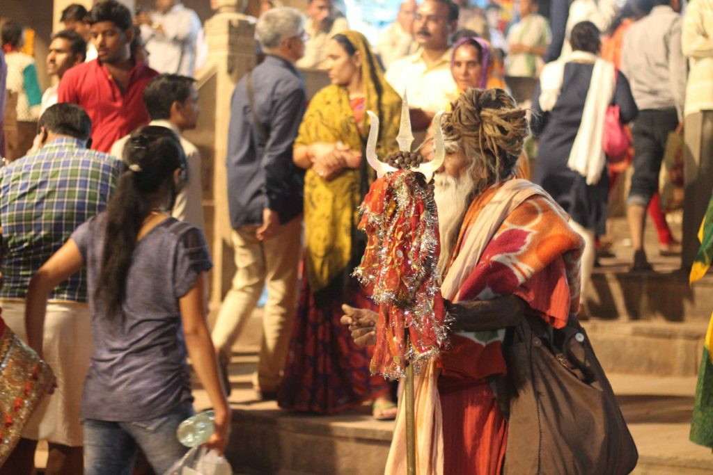 cérémonie jour varanasi monde