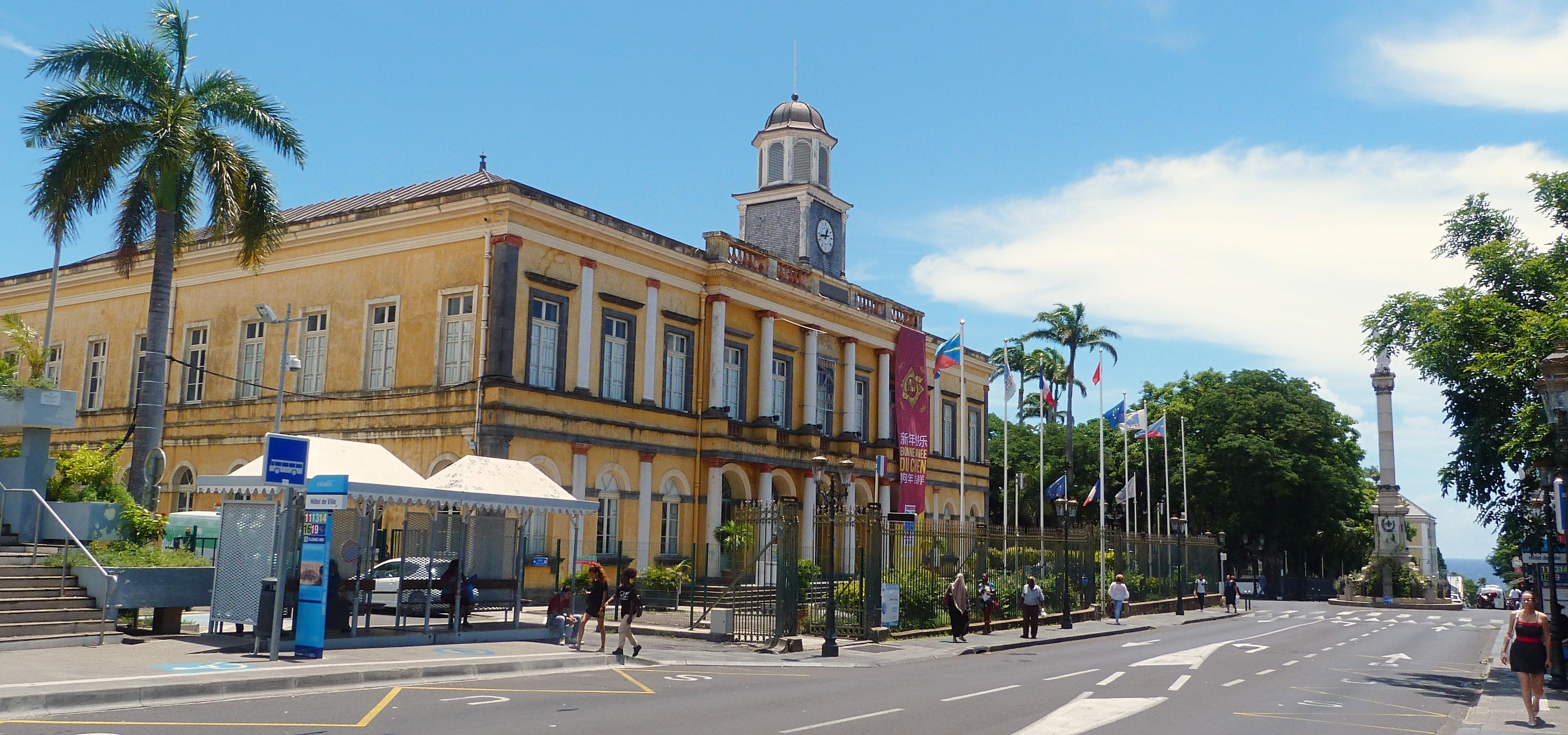Hotel de Ville - Saint Denis La Réunion