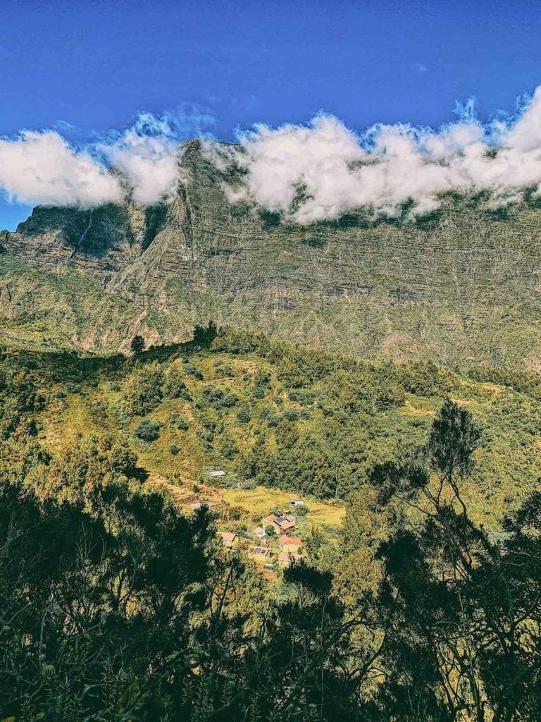 ilets du cirque de Mafate ile de La Réunion randonnées