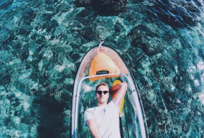 Kayak Transparent à la réunion blog ouest reunion