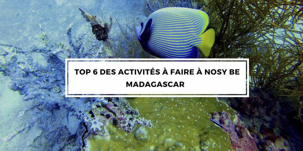 top 6 activités