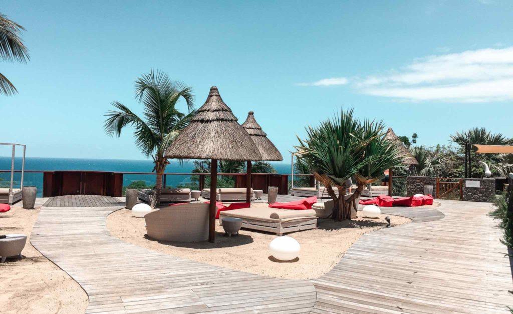 palm hotel spa petit ile