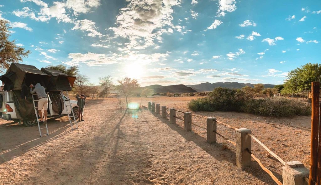 camping guestfarm namibie