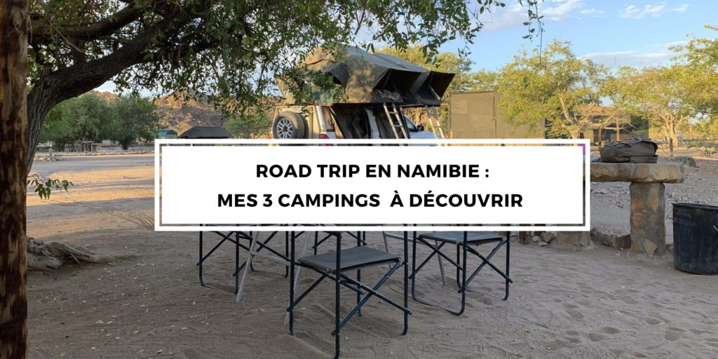 camping selection namibie