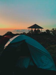camping bivouac au point de vue du maido à La Réunion