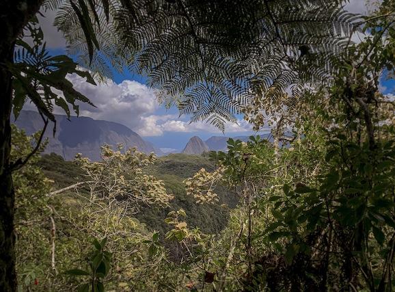 randonnée accès à mafate sentier scout