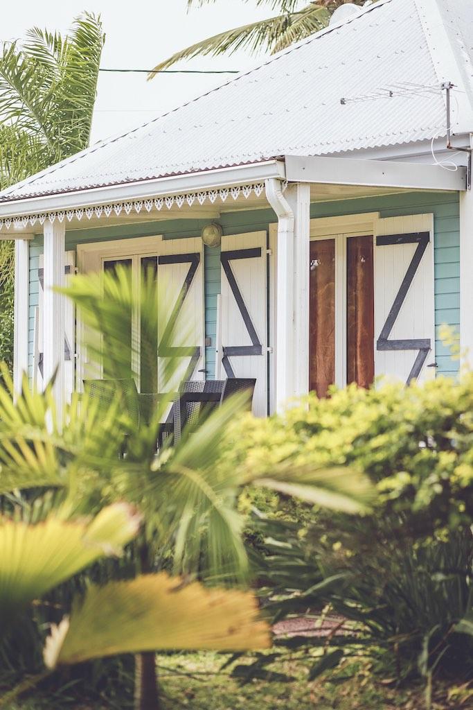 Anse des cocos à La Réunion bungalows creoles