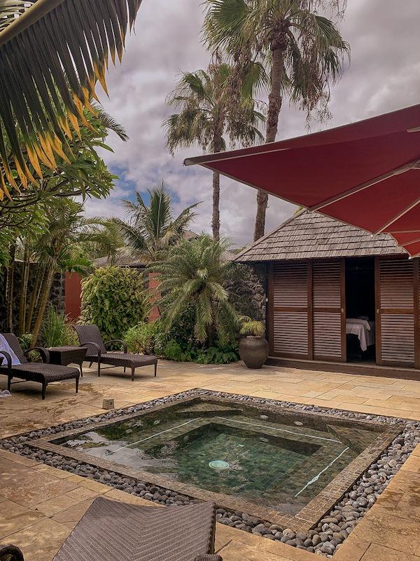 hotel palm Spa Petite-ile sud de la reunion jacuzzi