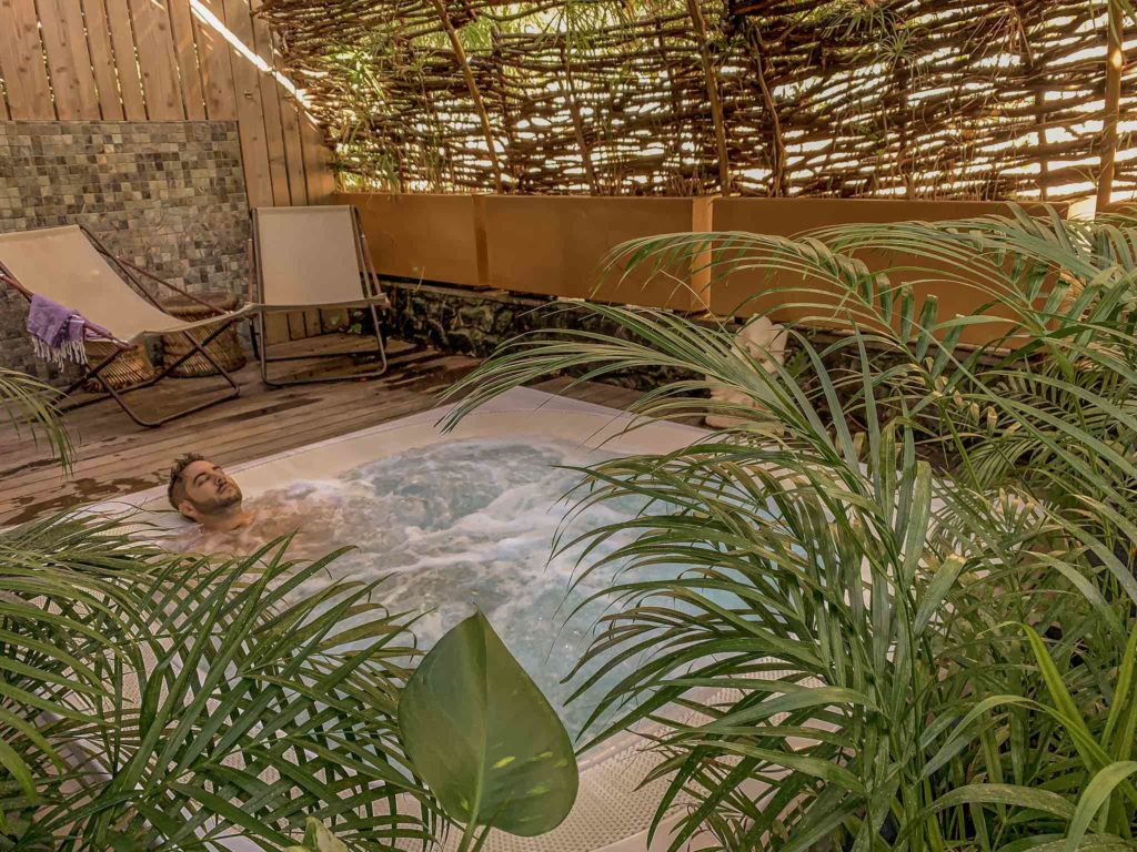 the nest spa du dina morgabine hôtel la saline les bains
