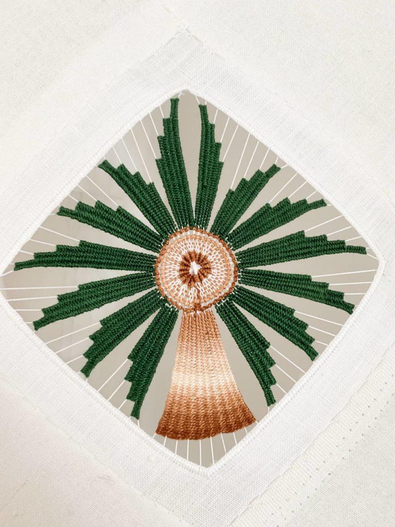 palmier borderie de cilaos moderne