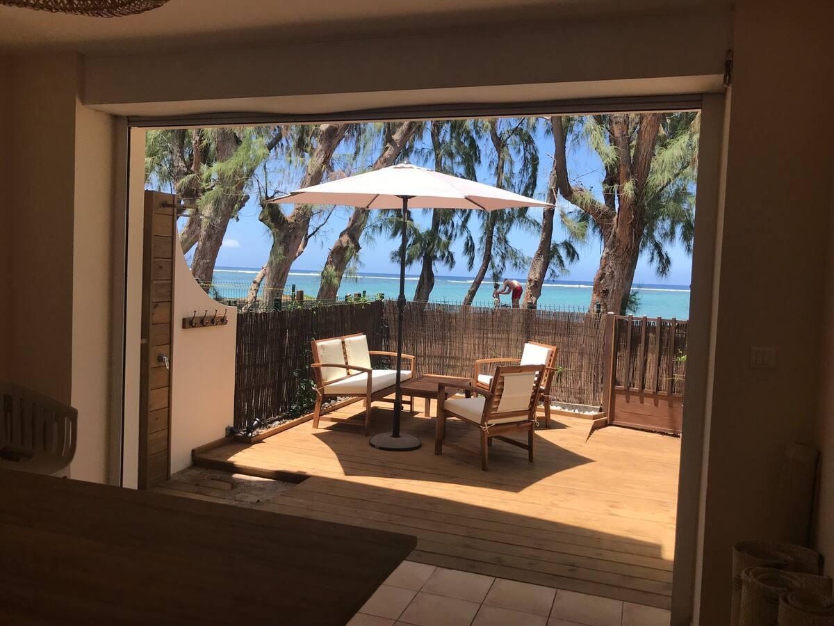 appartement airbnb la saline les bains plage la réunion